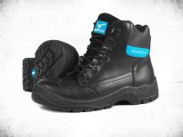 Glenwear Farnell Black Safety Hiker Boot - Size 7